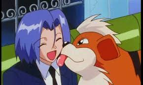 pokemon growlithe james died best episode original gif