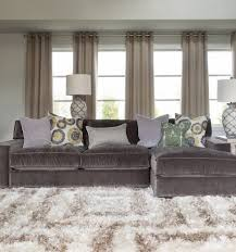 Oversized Furniture Living Room Living Room Can Lights Living Room With Cream Upholstery Sofa