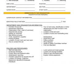 New Employeeientation Checklist Excel Best Of Training Staff