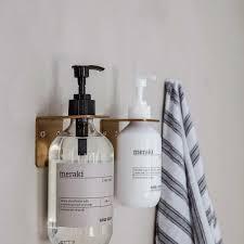 Dk Soap And Design Studio Supply Wall Bracket Brushed Brass Finish Soap Holder