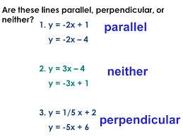 finding equations of parallel and perpendicular lines calculator