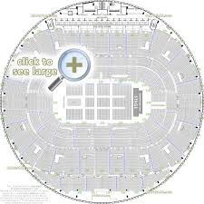 detailed seat row numbers end stage full concert sections floor plan with arena bowl layout edmonton