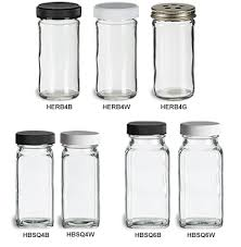 spice herb jars
