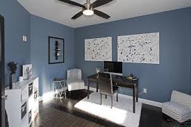 indigo home office. 4 Tags Contemporary Home Office With Hardwood Floors, Safavieh Cozy Solid White Shag Rug, Cloverdale Upholstered Indigo