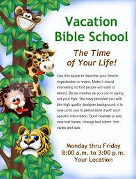 Vbs Flyer Ideas Vacation Bible School Flyer Cool School Flyers