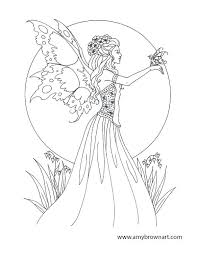 Fantasy Fairy Coloring Pages Fantasy Fairy Coloring Pages 10 8009