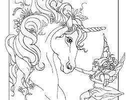 Coloring Pages Of Unicorns Unicorn Page Pictures Baby Free Printable