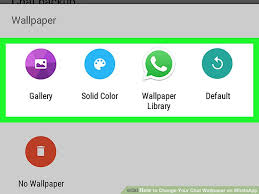 How Chat To Pictures Change Your Wallpaper with On Whatsapp