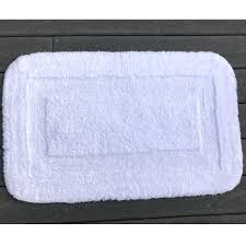 cotton bath rugs faze 3 supremacy inset loop border cotton bath rug white per case cotton bath rugs