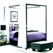 white wooden canopy bed – dblapp.co