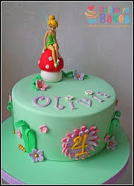 92 Great Tinkerbell Cake Images Tinkerbell Birthday Cake