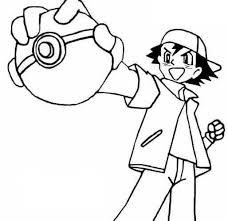 Disegni Da Colorare Pokemon Ash Disegni Da Colorare