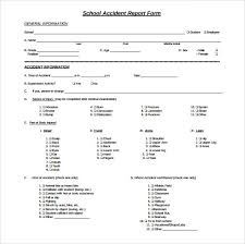 15 Sample Accident Report Templates Pdf Word Pages