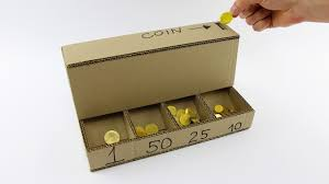 DIY Coin Sorting Machine from Cardboard. The Q