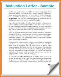 Motivation Letter For Job Ideas Collection Motivation Letter For A Job Application 9 How To