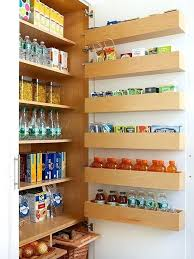 pantry door storage best door storage ideas on pantry door storage kitchen cabinet door storage racks