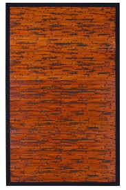 anji mountain cobblestone mahogany bamboo area rug