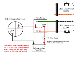 wiring horn diagram hints on stebel air horn install please reference the first post and diagram >