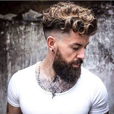 Hairstyles For Men With Curly Hair 18 Inspiration Finished Here With Our Clay Pomade Perfect Product For Looser