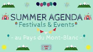 Summer Agenda – Family Festivals & Events Au Pays Du Mont-Blanc ...