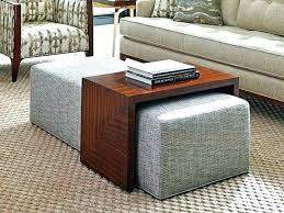 coffee tables with ottomans coffee tables with storage ottomans fascinating coffee table with ottoman underneath coffee