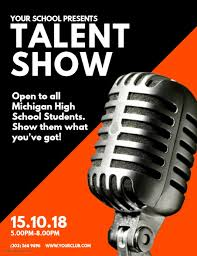 Talent Show Flyer Background Talent Show Flyer Template Postermywall