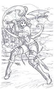 Adult Fantasy Coloring Pages 21224 Bsacorporate