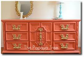 painted vintage furniture10 Examples Of Sizzling Hot Painted Mod Dressers