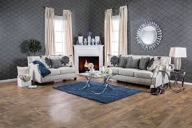 Cornelia Collection SM3070 Furniture of America Sofa & Loveseat Set