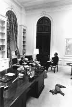 Nixon office Interior President Nixon And Henry Kissenger Confer In Room 180 George W Bush White House Eisenhower Executive Office Building Room 180