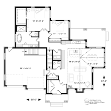 ranch home floor plans. Unique Ranch Main Floor Plan Of Ranch House  3285 By Drummond House Plans In Home Floor M