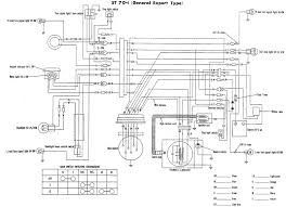 honda nx650 wiring diagram of the electrical system 59296 honda st70 i wiring diagram