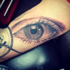 Hodnoty Očního Tetování A Tetování