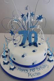 70th Birthday Cake Ideas Education Birthday Cakes For Men 70th