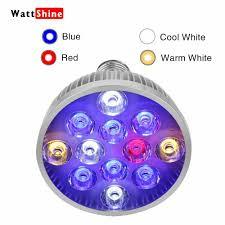 Fish Tank Light Bulb Details About Led Aquarium Light Bulb 36w For Coral Reef Fish Tank Lps Sps Algae Red Blue Leds