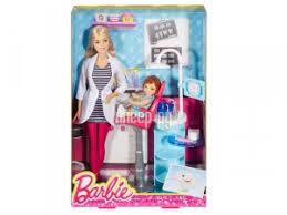 Купить <b>Игровой набор Mattel Barbie</b> Профессии DHB63 по низкой ...