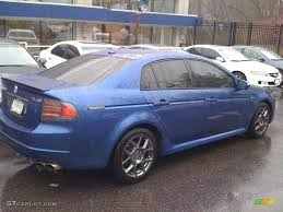 2007 Kinetic Blue Pearl Acura TL 3.5 Type-S #26258310 Photo #2 ...