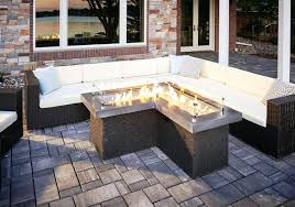 gas fire pit table image of gas fire pit table outdoor focal point granite top gas