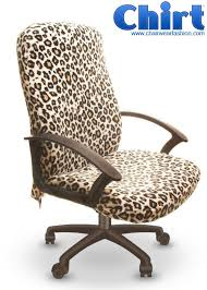 leopard office chair. Cool Custom Office Chair Cover Called The Wild Leopard Chirt™ By ChairWear Fashion™. Order Yours Today For Only $24.95 Www.chairwearfashion.com