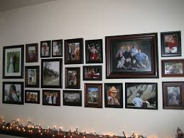 Large Space For Arranging Pictures On Wall