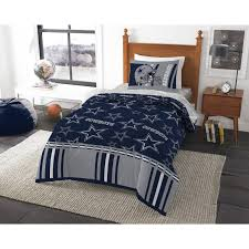 foxy nfl dallas cowboys track 4 piece twin bed in a bag bedding set acbbae77 7a07 4922 a66d e822bc4b7
