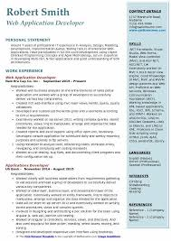 Application Developer Resume Samples Qwikresume