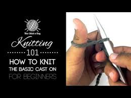 <b>Knitting</b> 101 : How to Cast On for Beginners [2 of 7] - YouTube