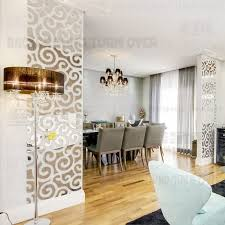 great ideas to decorate your home with d mirror stickers 3d mirror wall decals on 3d mirror wall art stickers with hot 3d mirror wall stickers quote flower vase acrylic decal home diy