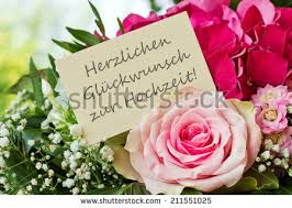english birthday card pink flowershappy birthdayenglish stock Wedding Greetings In German german wedding card with pink flowers congratulations on your marriage german wedding greetings german