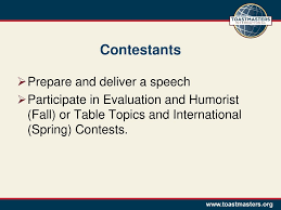 Toastmasters Speech Timing Lights District 26 Toastmasters Ppt Download