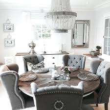 round dining room table and chairs. Gray Round Dining Table My Dream Room Ha En Set With And Chairs G