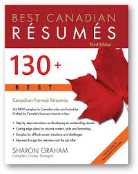 Resumes With Picture Best Canadian Resumes Sharon Graham Softcover Book 150
