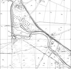 I'm sure i don't need to tell you how to read a map but it's due east on the north side of the canal and yes that's the crane brook