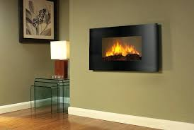 wall mounted electric fireplace control remote heater firebox black do fireplaces give off heat all ethanol